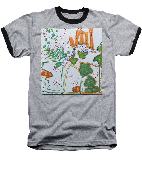 Castle On The Hill Baseball T-Shirt