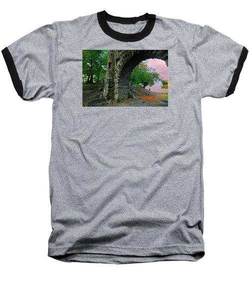 Castle Ramparts Baseball T-Shirt