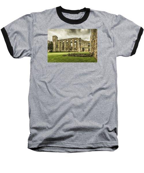 Castle Ruins Baseball T-Shirt