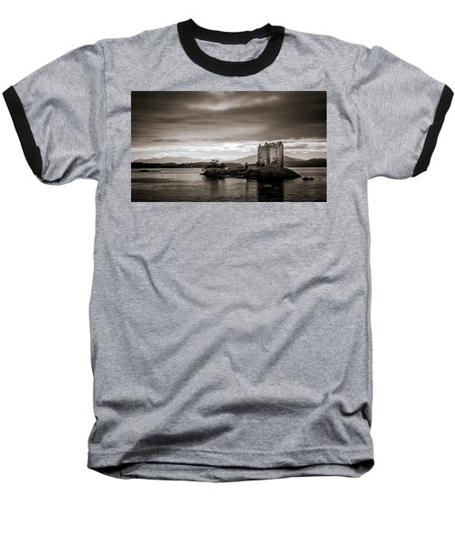 Castle Stalker 1 Baseball T-Shirt by Niels Nielsen
