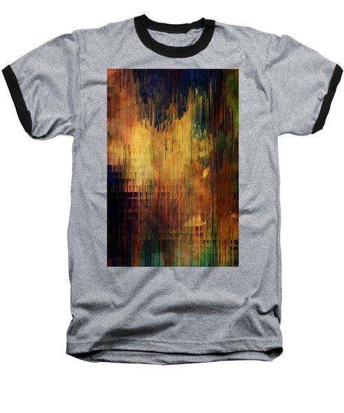 Castle View Planet Pixel Baseball T-Shirt