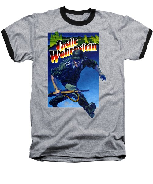 Castle Wolfenstein Shirt Baseball T-Shirt