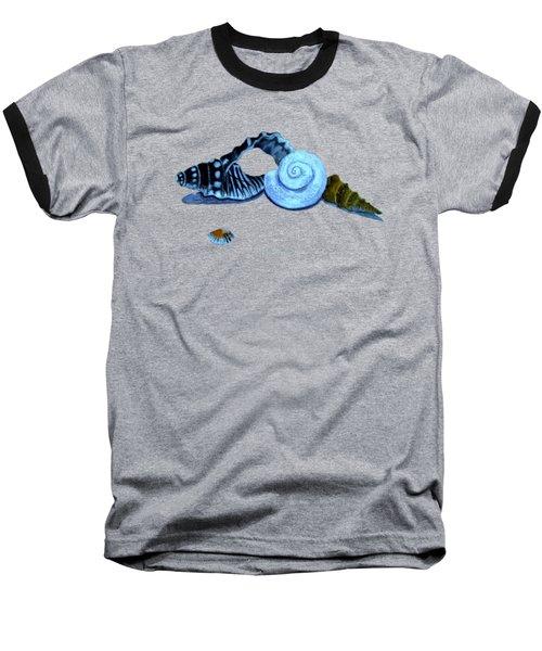 Castles In Blue Baseball T-Shirt