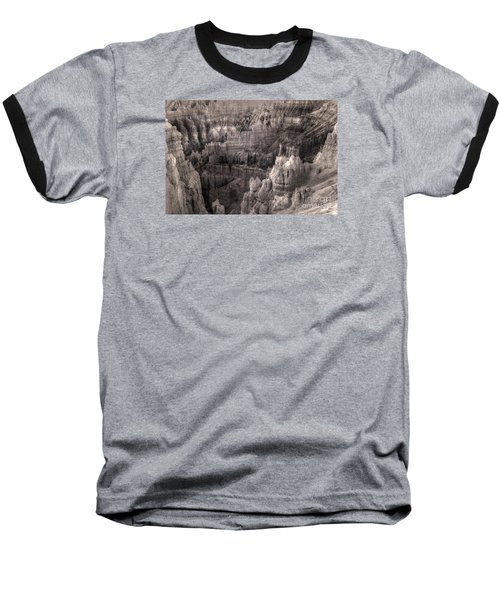 Baseball T-Shirt featuring the digital art Castles Made Of Sand In The Hoodoos  by William Fields