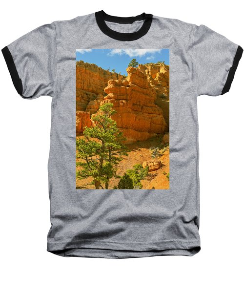 Casto Canyon Baseball T-Shirt by Peter J Sucy