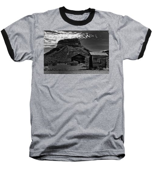 Castolon Ghost Town Baseball T-Shirt