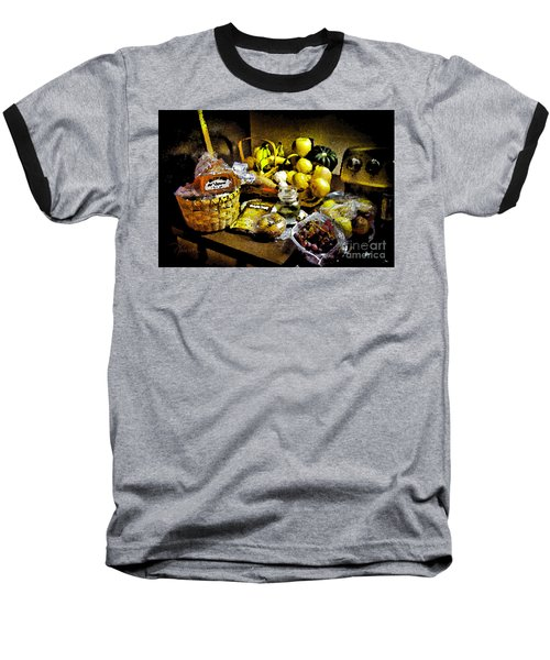 Baseball T-Shirt featuring the photograph Casual Affluence by Tom Cameron