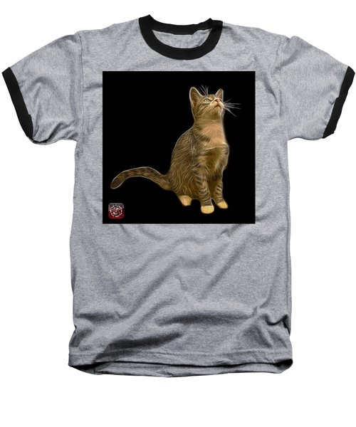 Cat Art - 3771 Bb Baseball T-Shirt