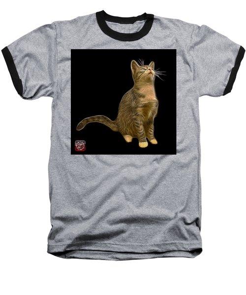 Cat Art - 3771 Bb Baseball T-Shirt by James Ahn