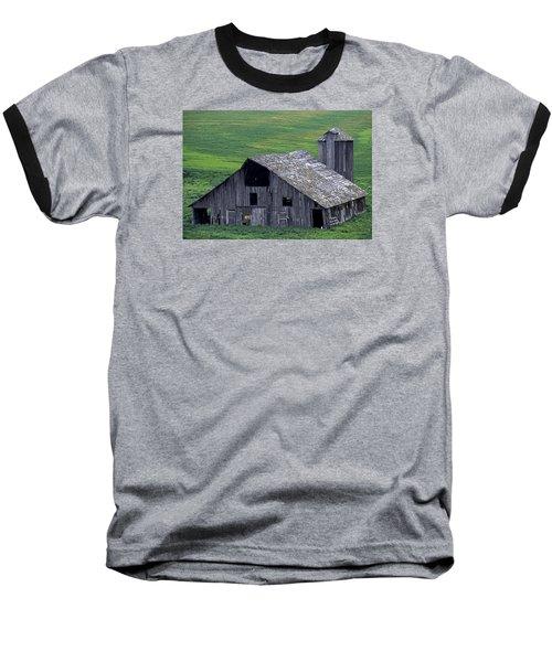 Cat Barn Baseball T-Shirt