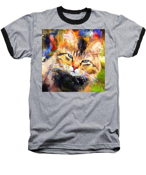 Cat Color Baseball T-Shirt