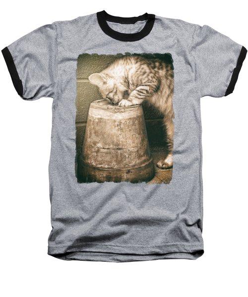 Cat Curiosity... Baseball T-Shirt
