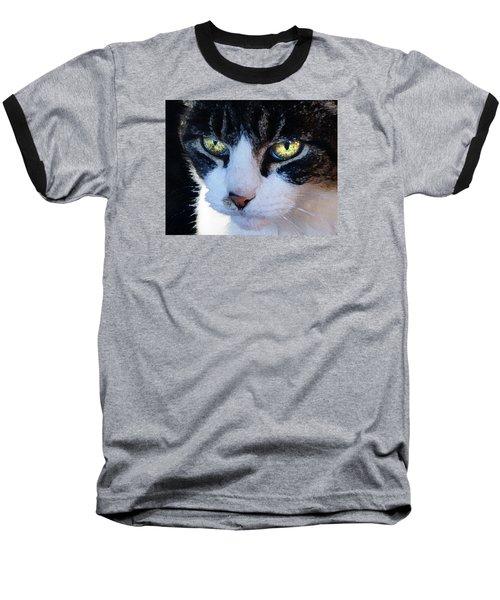 Cat Eyes Baseball T-Shirt