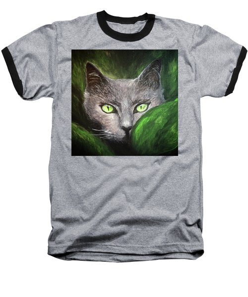 Cat Eyes Baseball T-Shirt