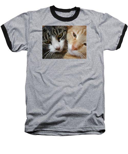 Cat Faces Baseball T-Shirt