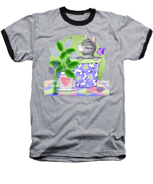 Cat Love Baseball T-Shirt