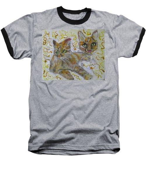 Cat Named Phoenicia Baseball T-Shirt
