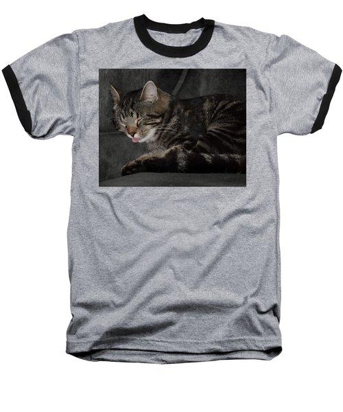 Cat Nap Baseball T-Shirt