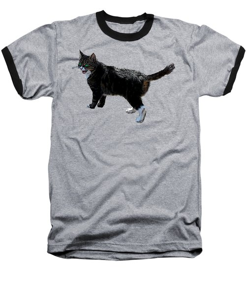 Cat Says Baseball T-Shirt
