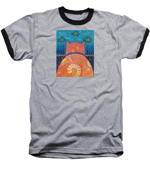 Cat Tales Baseball T-Shirt