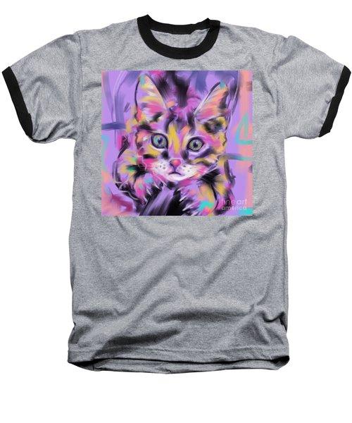 Cat Wild Thing Baseball T-Shirt