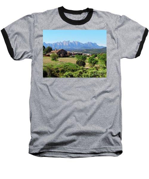 Catalan Landscape In Spring Baseball T-Shirt by Don Pedro De Gracia