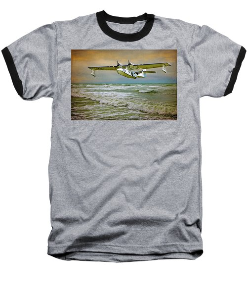 Catalina Flying Boat Baseball T-Shirt