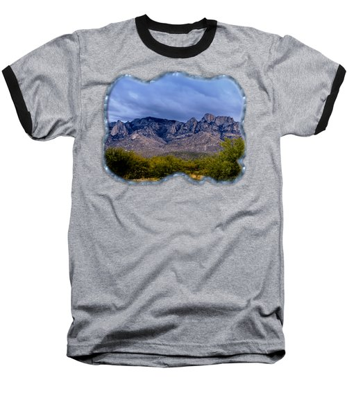 Catalina Mountains P1 Baseball T-Shirt by Mark Myhaver