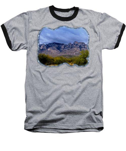 Catalina Mountains P1 Baseball T-Shirt