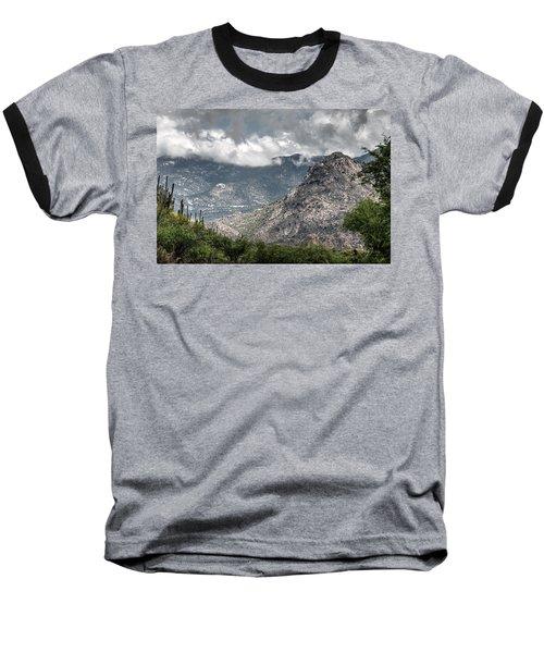 Catalina Mountains Baseball T-Shirt by Tam Ryan
