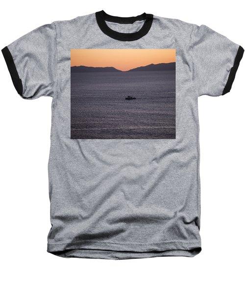 Catalina Orange Baseball T-Shirt