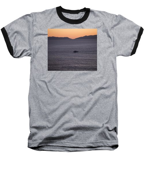 Catalina Orange Baseball T-Shirt