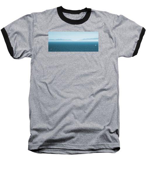 Catalina Test Baseball T-Shirt by Ben and Raisa Gertsberg