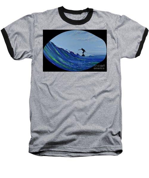 Catch A Wave Baseball T-Shirt