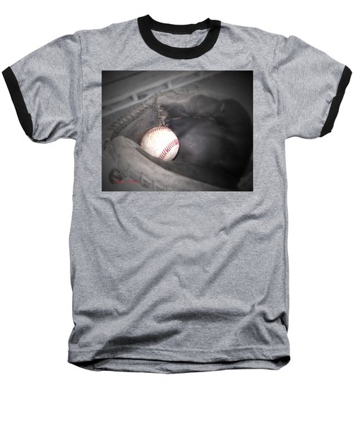 Baseball T-Shirt featuring the photograph Catch Me by Shana Rowe Jackson
