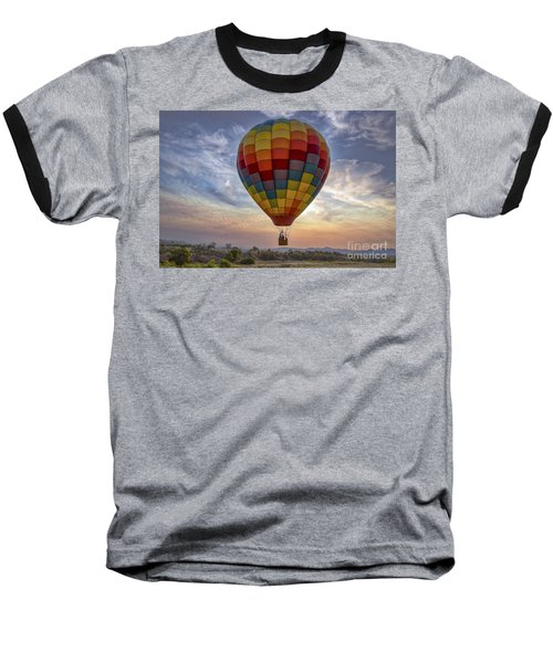 Baseball T-Shirt featuring the photograph Catch The Breeze by Mitch Shindelbower