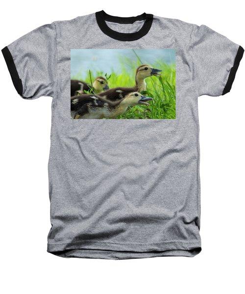Catching Bugs Baseball T-Shirt