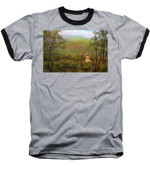 Catching Butterflys Baseball T-Shirt