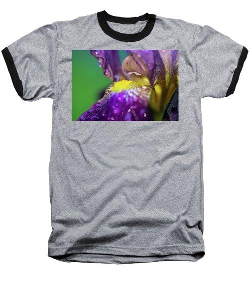 Catching Raindrops  Baseball T-Shirt