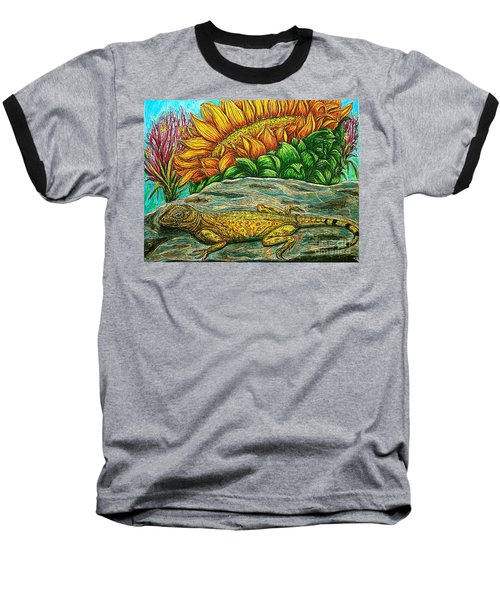 Catching Some Rays Baseball T-Shirt by Kim Jones