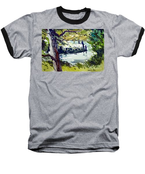 Catching Summer Dreams Framed Matted Glassed Baseball T-Shirt