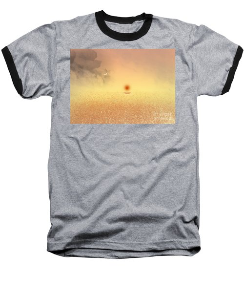 Catching The Light Baseball T-Shirt by Trilby Cole