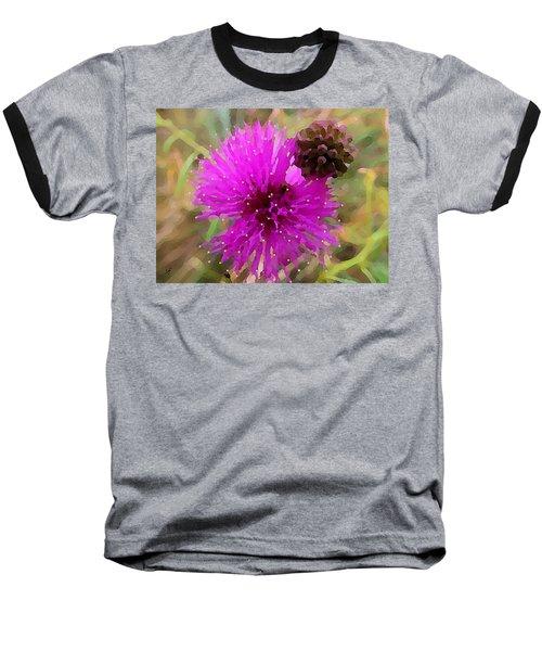 Catclaw Pink Mimosa  Baseball T-Shirt