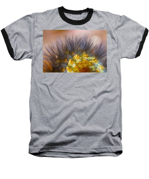 Caterpillar Hair Baseball T-Shirt