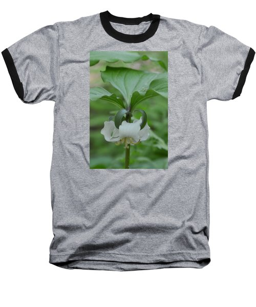 Baseball T-Shirt featuring the photograph Catesby Trillium by Linda Geiger