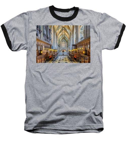 Cathedral Aisle Baseball T-Shirt