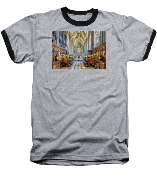 Cathedral Aisle Baseball T-Shirt