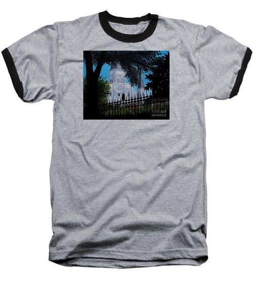 Cathedral At The Square Baseball T-Shirt
