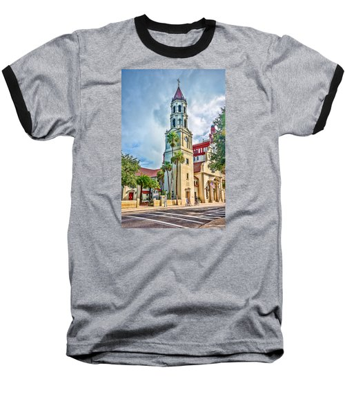 Cathedral Basilica Baseball T-Shirt