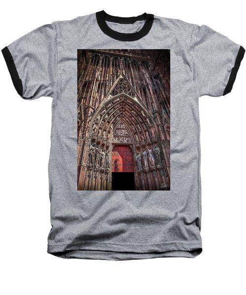 Cathedral Entance Baseball T-Shirt